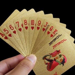 골드 포커 포카 트럼프 카드 보드게임