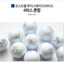 로스트볼 파이즈 컬러혼합 A-급 10알/ 연습용 골프공