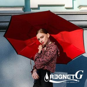 거꾸로 우산 레그넷 G. 자동 접힘 빅사이즈 우산