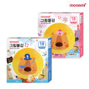 모나미 모니주 수채물감 18색