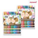 모나미 모니주 샤프식 색연필 24색