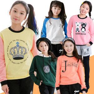 주니어 봄 후드티 맨투맨티 초등학생 의류 옷