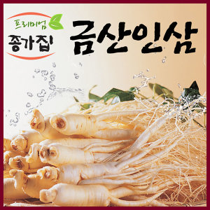 (무료세척)세척인삼 난발삼(12뿌리내외)/300g