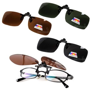 자외선 차단용 탈부착 클립형 편광선글라스