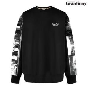 그랜피니 남녀공용 맨투맨 티셔츠 NGMD 빅사이즈