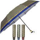 55-8K 체크 3단 우산/3단우산/접이식우산/우산
