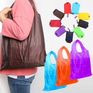 포켓형 시장바구니 시장가방 쇼핑백 마트 보조가방