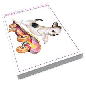 애완동물 수채화 (개그리기 고양이그리기) 미술학원 취미 미술교재