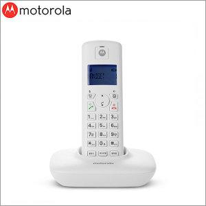 모토로라 T401A 무선전화기 발신자표시/화이트