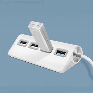 USB3.0 4포트 타입C 스마트폰 맥북 멀티 확장 허브