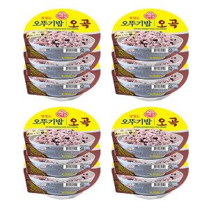 오뚜기 오곡밥210gX12입/오뚜기밥/햇반/오곡밥/즉석밥