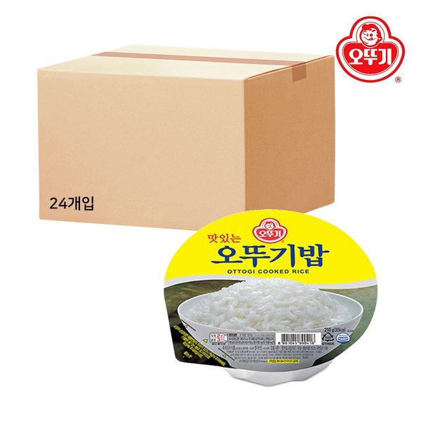 오뚜기밥 1박스(4개입x6개)