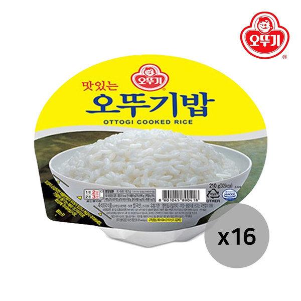 오뚜기밥 210g 4개입x4(16개)