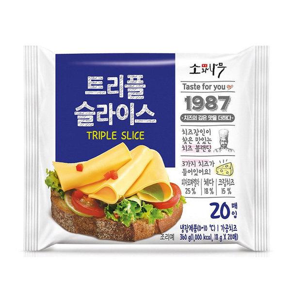 동원소와나무_트리플슬라이스치즈_360G