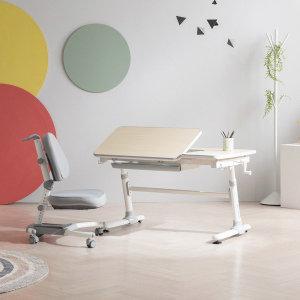 위드그로우  스마트 2.0 높이각도조절 책상+지니의자 Y402S SET 의자커버증정