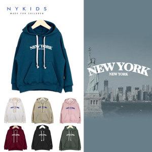 (NYKIDS) NY KIDS 오버핏 후드티(기모) A144 - 아동 주니어