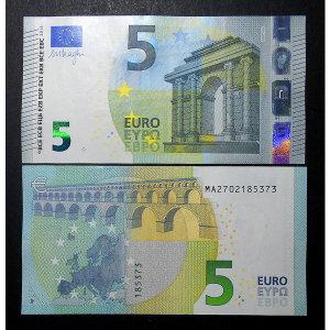 유로화 클래식 5유로 지폐 2013년 포르투갈 화폐(unc)