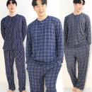 따숨남성잠옷 FREE/XL 남자상하 파자마세트 홈웨어