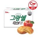 청우 그랑쉘 사과 60개입/1170g/벌크/1box/과자/쿠키