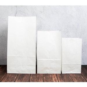 무지 화이트 종이 봉투 선물 포장봉투 각대봉투 50매