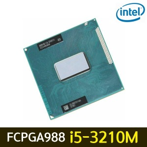 인텔 노트북용 CPU i5-3210M 아이비브릿지 FCPGA988 중고품