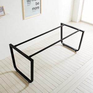 스틸뷰 식탁 1800X800 프레임 식탁 DIY 철제 테이블