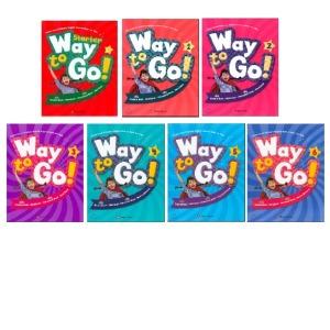 (happy house) Way to Go 세트(Starter .1~6) (전7권) : 초등 코스북