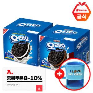 오레오 쿠키 화이트600g+초코600g +쿠키머그 증정