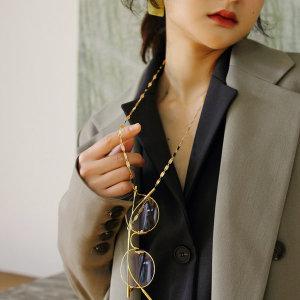 여자 남자 연예인 안경줄 선글라스줄 골드 체인 메탈