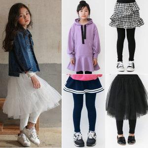 여아 의류/치마레깅스/레깅스/바지/유아 아동 옷