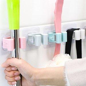 접착식 봉걸이 욕실용 봉걸이 다용도 봉걸이 칼라랜덤