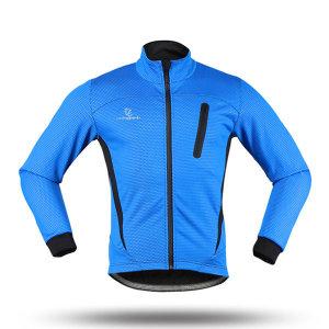 volegarb 방한 방풍 기모 자전거져저지_블루