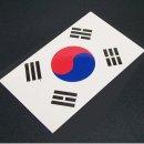 9x5 태극기 스티커-축구경기 월드컵 올림픽 응원용품