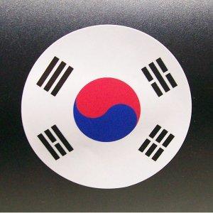 원 태극기 스티커-축구경기 월드컵 올림픽 응원용품