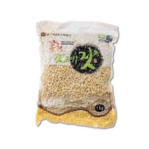 국내산 홍천 백잣 1kg 대용량 견과류 산지직배송