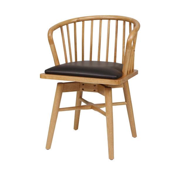 하모니/ 원목 회전암체어 식탁의자 색상2