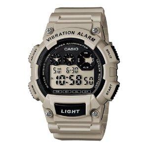 카시오정품 W-735H-8A2 진동알람 스포츠 전자손목시계