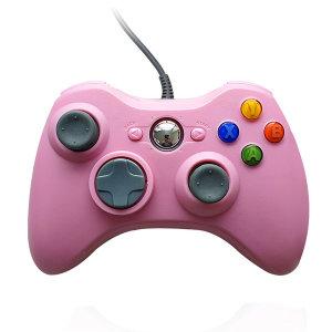 XBOX360 호환 PC 게임패드 핑크 스마트폰 컨트롤러