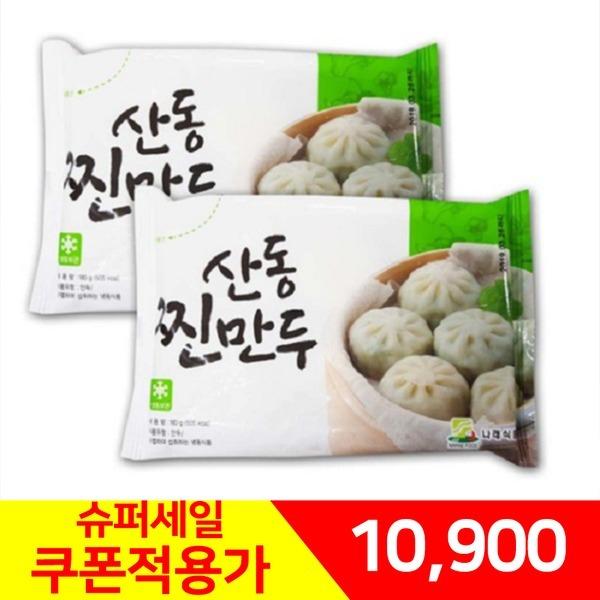 나래식품 산동만두180gX10개/찐만두