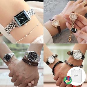쇼핑백증정 TANDY  탠디 남성 여성 커플 손목시계