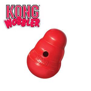 콩 KONG 강아지 장난감 워블러 소