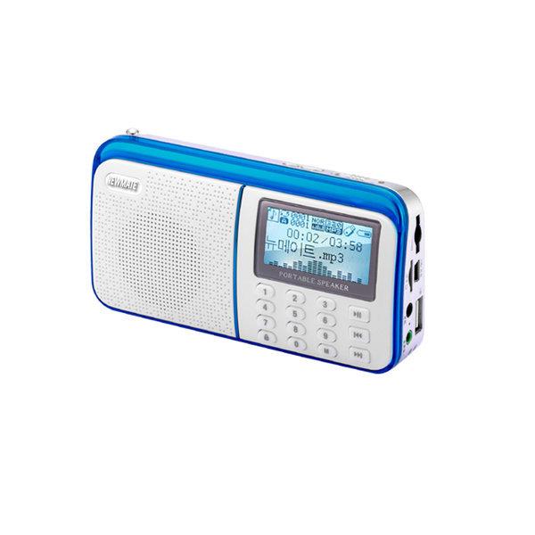 NP-2000/효도라디오/휴대용/미니소형/MP3재생뉴메이트