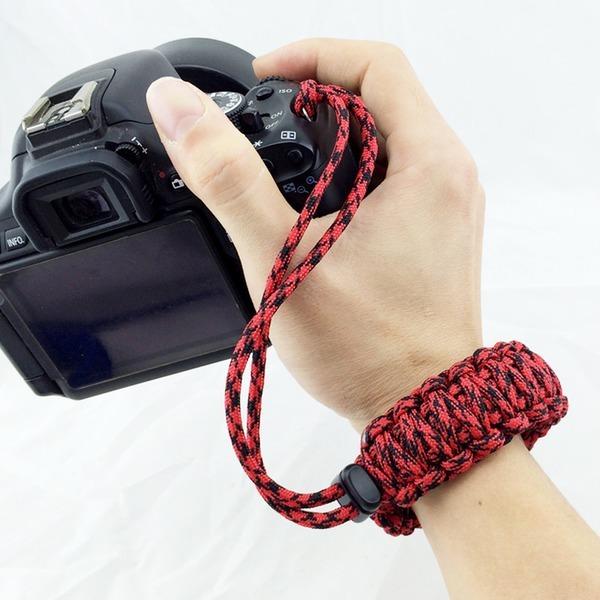 카메라 떨굼방지 손목스트랩 / 와이드폭 매듭 스트링