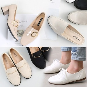 신상 신발 옥스퍼드화 여성 단화 에나멜 로퍼 여자