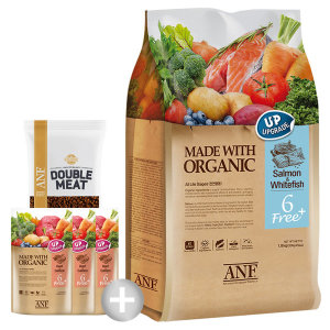 유기농 6free 플러스 연어와흰살생선5.6kg (샘플증정)