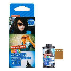 로모그래피  35mm 컬러네거티브 ISO 400 - 3롤 1팩