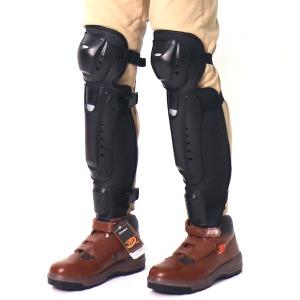 무릎보호대 벌초장비 안전카바 예초기 정강이