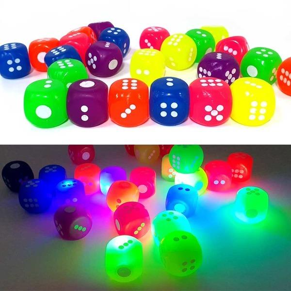 LED불빛 주사위 탱탱볼 (24개) x 1통