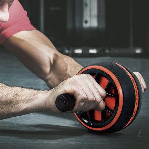 AB코어휠 복근운동 ab 휠 슬라이드 전신운동 무릎패드