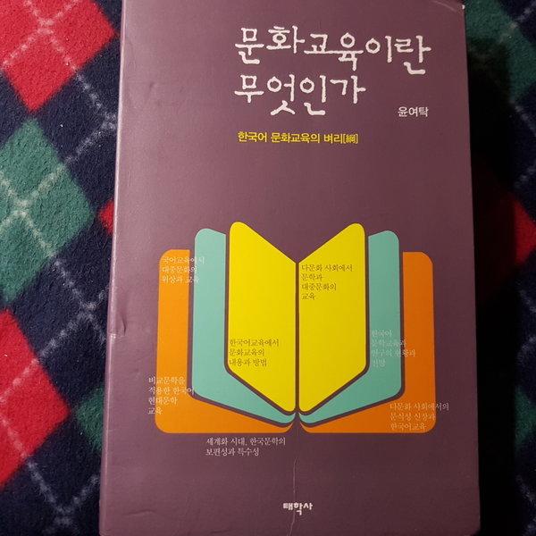 문화교육이란 무엇인가/윤여탁.태학사.2016